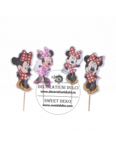 Topper cardboard Minnie Mouse