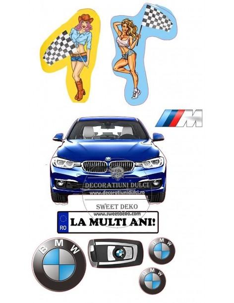 Image ladies edible BMW &