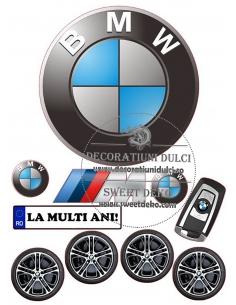 BMW edible image