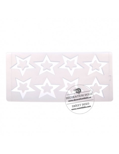 Chocolate mold forms stars