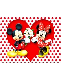Love Mickey and Minnie...