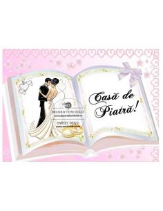 Edible image open book...