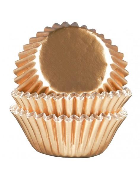Mini muffins golden baskets...