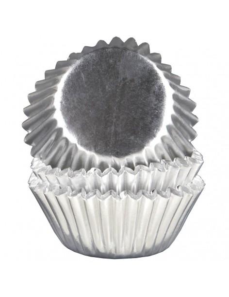 Mini muffin baskets silver...