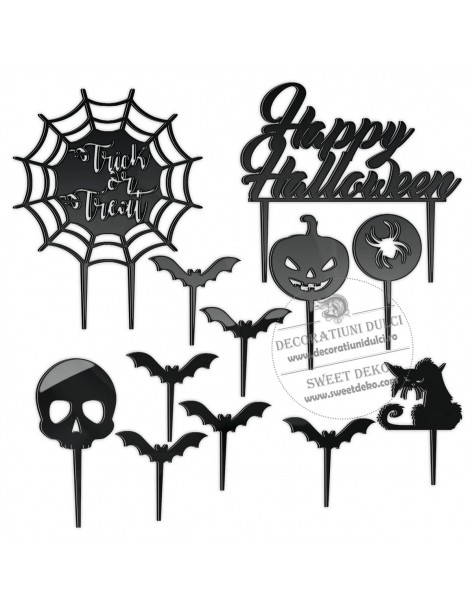 Topper Set Halloween,...