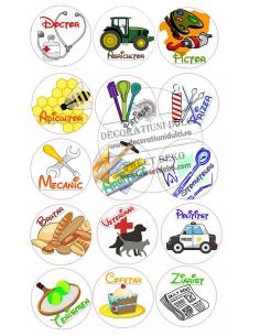 Image edible crafts circles