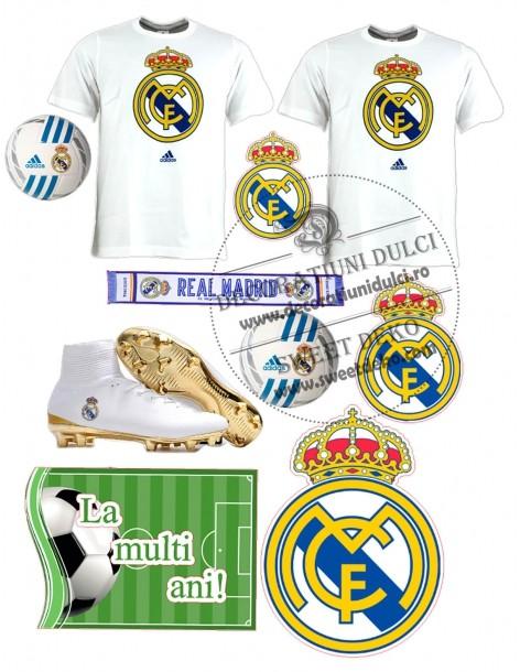 Real Madrid edible image