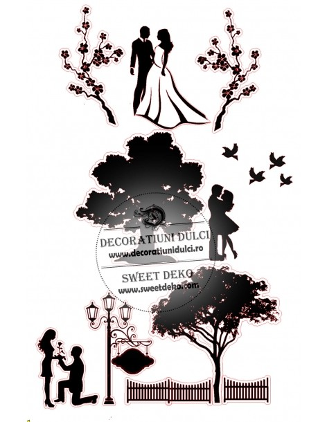 Silhouettes our love