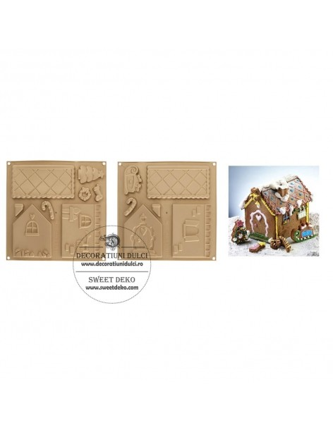 Gingerbread house mold -...