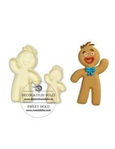 Mold Gingerbread Man, JEM