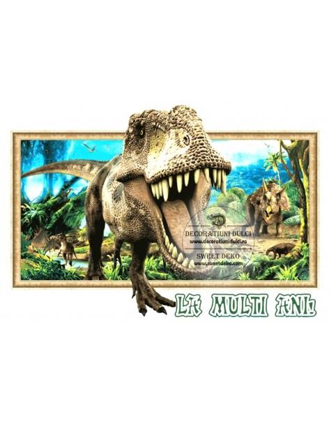 Edible image: Dinosaur T Rex