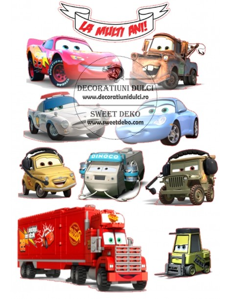 Heroes edible image Cars