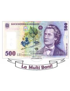 Image edible sea 500 lei note