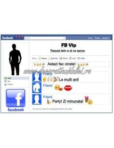 Imagine comestibila Facebook