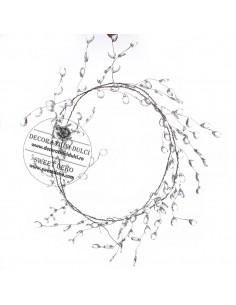 Dcarrative string crystal drop