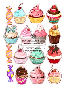 Picture edible Muffins