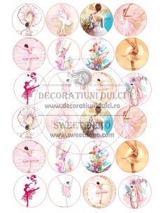 Picture edible circles...