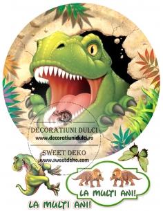 Edible Image T-Rex Escaped