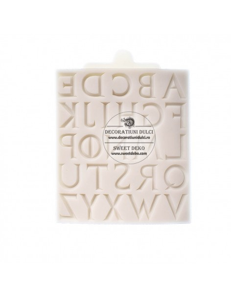 Letters mold pattern
