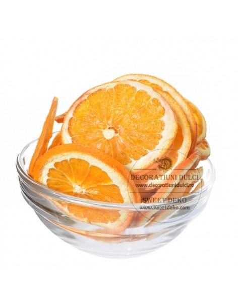 Dried orange slices, fruit...