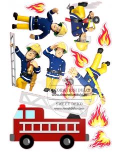 Edible image - Fireman Sam