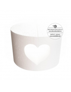 Heart Cut-Out Cake Dummy,...
