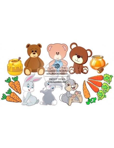 Edible image - Bear and...