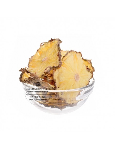 Dried pineapple slices,...