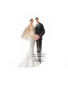 Topper Bride and Groom 16cm
