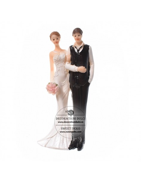 Topper Bride and Groom 16cm...