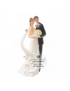 Wedding Cake Topper, Bride...