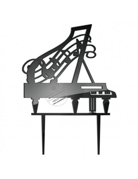 Topper Piano, plexi