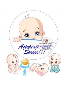Edible Image Sweet Baby Boy