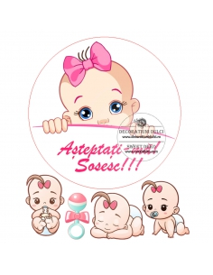 Edible Image Sweet Baby Girl