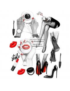 Edible Image Lady Style