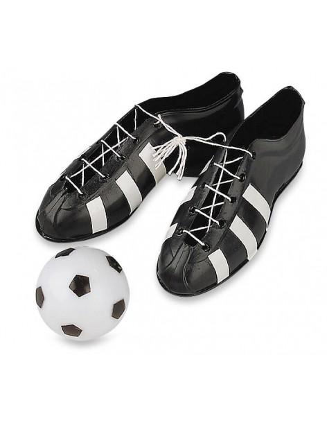 Set Football Shoes And Ball