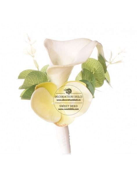 Flower Cake Topper - White...