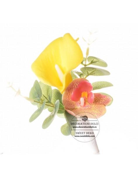 Flower Cake Topper - Yellow...