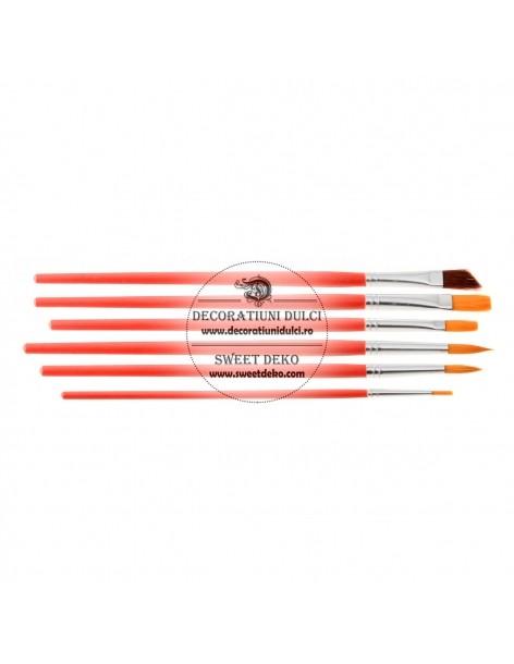 Set Of Painting Brushes (6...