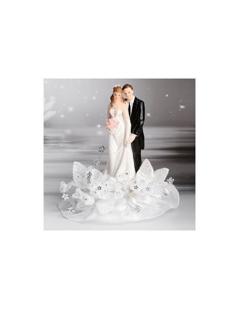 Topper tort nunta, Elegant...