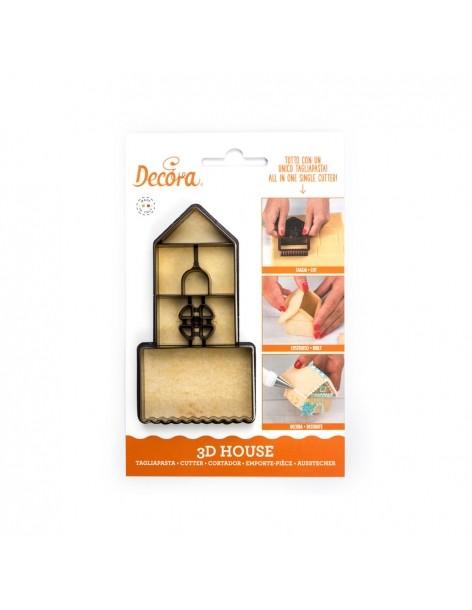 3D House Plastic Cookie...