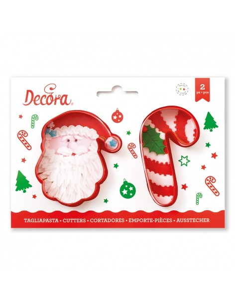 Santa Claus and Candy Cane...