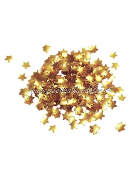Edible glitter, gold foil