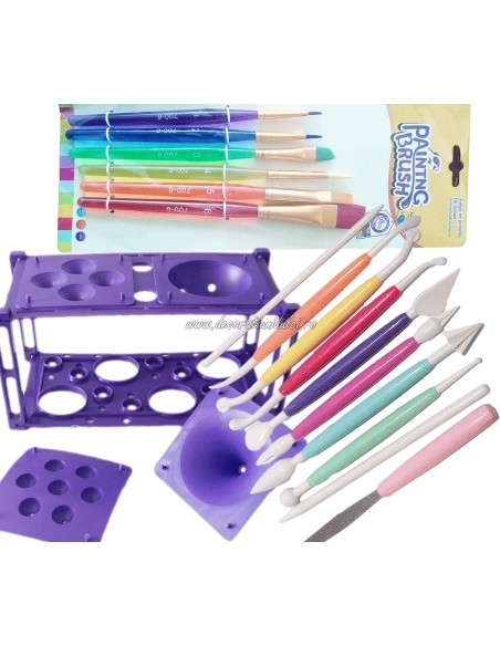 Various tools for cake shops