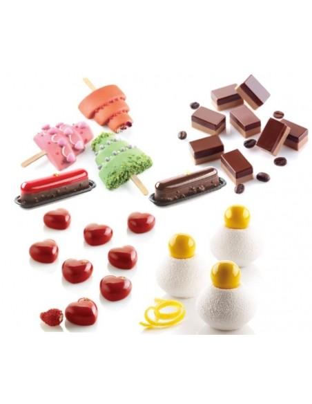 Mini and micro cakes
