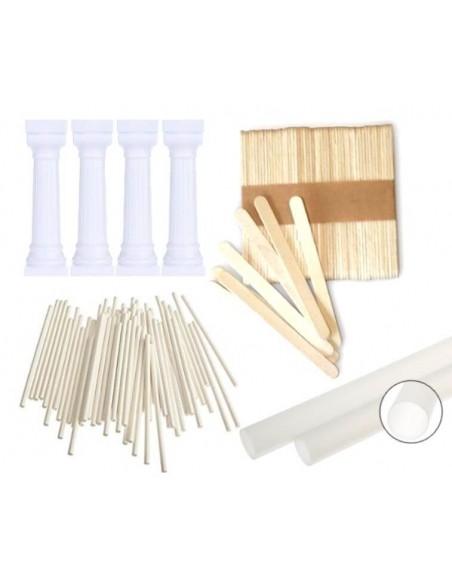 Sticks and support columns