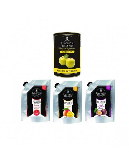 Pasteurized fruit puree
