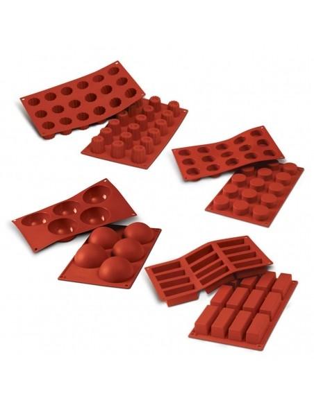Classic Cake Molds Terracotta
