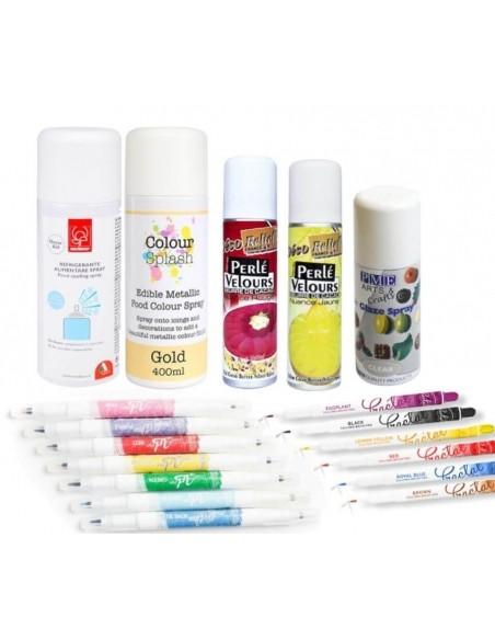 Foodgrade pens and sprays