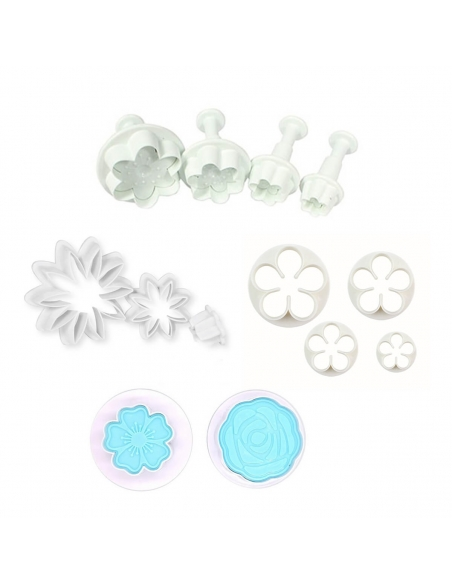 Flowers and leaves cutters